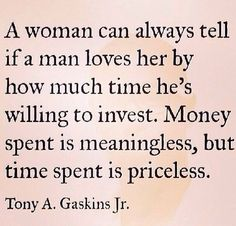 time>money