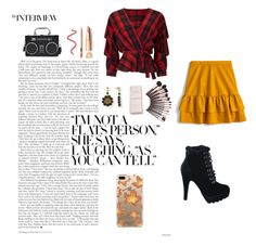 fall fashion by justlayla17 on Polyvore featuring mode, Miss Selfridge, J.Crew and Casetify