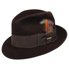 e2b9abebedfb7 Stetson Saxon Fur Felt Fedora on sale  160 Mens Dress Hats