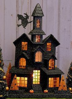 Haunted house (cardboard project?) This could be fun!