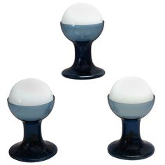 3 Murano Table Lamps By A.V. Mazzega | From a unique collection of antique and modern table lamps at http://www.1stdibs.com/furniture/lighting/table-lamps/