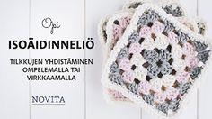 Chrochet, Knit Crochet, Crochet Hats, Flower Embroidery Designs, Joko, Knitting Accessories, Hand Knitting, Free Pattern, Weaving