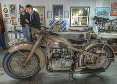 Charlie Parsons picks up his 1939 R12 from Bench Mark Works in Sturgis, Miss.   Flickr - Photo Sharing!