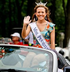 Miss Pennsylvania at the #PVGP