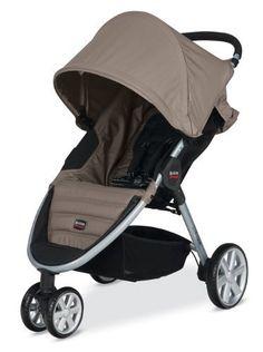 Britax 2014 B-Agile Stroller, Sandstone by Britax