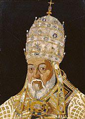 Portrait of Pope Clement VIII (Ippolito Aldobrandini) (Getty Museum)