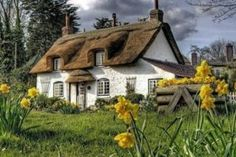 15 amazing non-touristy places to discover each country's national character Devon, Cottages Anglais, Star Fort, Roof Coating, Kangaroo Island, Thatched Roof, Country Uk, English House, Tourist Spots