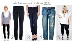 What jeans are in fashion 2015