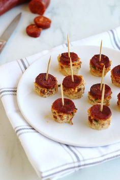 Frittata chorizo et tomate