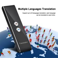 Portable Mini Multi-Language Smart Translator 40 Languages APP Translator Bluetooth Wireless Two-Way Real Time Instant Voice Bluetooth, 4g Wireless, Japanese Inventions, Speech Recognition, Mini, Portable, How To Take Photos, Consumer Electronics, The Voice