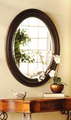 Tortoise Oval Mirror #kirklands #eclecticelegance #mirror