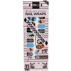 NCLA Nail Wraps, Funky Shark Parliament 1 ea found on Polyvore