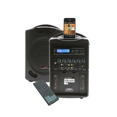iPod Wireless Portable PA System - Portable Audio - pa systems > portable audio > pa419 by CALIPHONE. $786.13. iPod Wireless Portable PA System Introducing the PA419, the first portable PA designed for schools, churches, hotels and meeting facilities with an Apple-approved docking station for audio played from iPhones and iPods Using your phones downloaded playlist, take advantage of streaming Pandora or Spotify, or play music from the built-in DVDCD player for g...