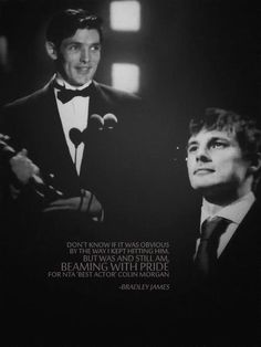 Colin Morgan & Bradley James= best bromance of all time Colin Morgan, Bradley James, James 3, Merlin Cast, Merlin And Arthur, Bbc Tv Series, Best Tv Shows, Love, Doctor Who