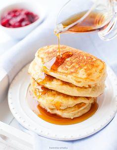 Pancakes Breakfast Pancakes, Breakfast Recipes, Breakfast Ideas, Us Foods, Recipe Details, Fritters, Clean Recipes, Healthy Desserts, Healthy Meals