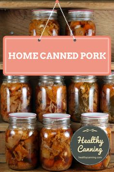 Canning pork - Healthy Canning Canning pork. Canning that pork is an economical way to store pork in a safe, quality form that is ready for instant use in a myriad of recipes, anything from curries to tajines to almost instant braised suppers. Home Canning Recipes, Canning Tips, Cooking Recipes, Dinner Recipes, Pressure Canning Meat, Pressure Cooker Recipes, Pressure Cooking, Canning Food Preservation, Preserving Food