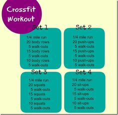 10 Minute Crossfit-- at home, no equipment, crossfit workout 10 Must-Do Back Exercises For Summer total-body dumbbell workout hits several m. Fitness Nutrition, Fitness Tips, Fitness Motivation, Workout Fitness, Health And Beauty, Health And Wellness, Crossfit At Home, Crossfit Abs, Dumbbell Workout