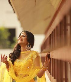 #yellow #haldi # bridal # yellow lehenga #mirrorwork #haldioutfits