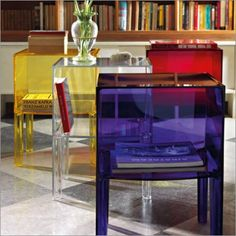 Kartell Ghost Buster Table Small | Philippe Starck