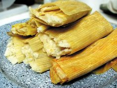 the day after Thanksgiving I make Turkey Tamales, turkey heated in Enchilada sauce and spices and I use a spicy masa then my homemade spicy Cranberry jalapeno sauce on top of the tur Real Mexican Food, Mexican Cooking, Mexican Food Recipes, Spanish Recipes, Spanish Food, Enchilada Sauce, Chicken Tamales, Corn Tamales, Homemade Tamales