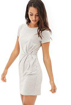 Drapey Heathered Sheath Dress | FOREVER 21 - 2000122943