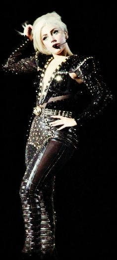 Lady Gaga amazing custom costume