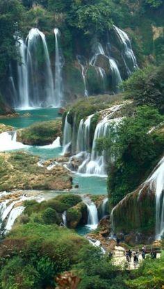 Ban Gioc falls Vietnam