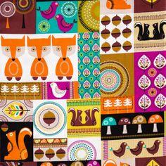 Norwegian Woods - Collage von sew what auf DaWanda.com