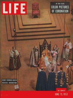 LIFE Magazine June 15, 1953 - Queen Elizabeth II Coronation