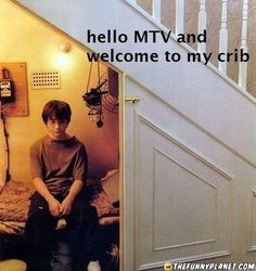 Harry Potter's Message To MTV