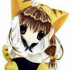 Kawaii cat girl