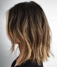 Messy Lob For Fine Hair Medium Hair Cuts, Short Hair Cuts, Medium Hair Styles, Short Hair Styles, Plait Styles, Medium Length Ombre Hair, Fine Hair Cuts, Style Fine Hair, Cute Medium Haircuts
