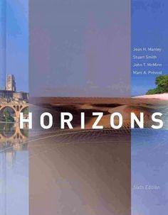 Horizons / Joan H. Manley, Stuart Smith, John T McMinn, Marc A Prévost
