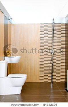 Small Bathroom With Open Shower Without Cabin