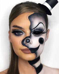 Face Paint Makeup, Eye Makeup Art, Scary Makeup, Sfx Makeup, Special Makeup, Special Effects Makeup, Butterfly Makeup, Amazing Halloween Makeup, Character Makeup