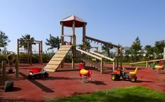 Big fun for the little ones! Fresh sea air, beautiful playground...