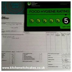 We had our council inspection last week.happy to say we have a food hygiene rating Witch Cake, Cake Business, Kitchen Witch, Cake Decorating, Cakes, Learning, Sayings, Happy, Food