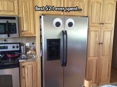 Googly Fridge