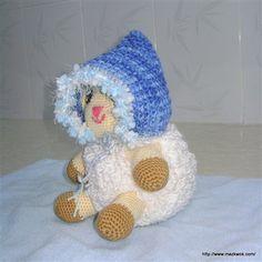 Autumn cloud baby pixie hat - Media - Crochet Me