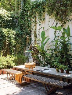 29 Marvelous Winter Garden Design For Small Backyard Landscaping Ideas Outdoor Rooms, Outdoor Gardens, Outdoor Living, Outdoor Decor, Design Exterior, Patio Design, House Design, Urban Garden Design, Patio Chico