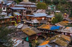 Old Manali...Village ..in Manali India