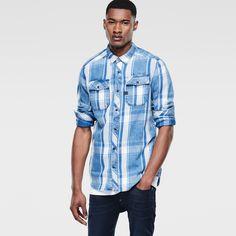 G-Star RAW | Men | Shirts | Landoh Shirt , Rinsed