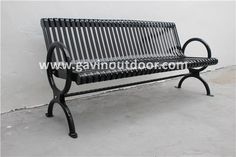 18-year customization manufacture experience metal urban furniture powder coated steel park bench, View park bench, Gavin Product Details from Guangzhou Gavin Urban Elements Co., Ltd. on Alibaba.com