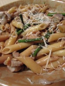 Buttery Balsamic Pasta and Asparagus, can't wait to try this!