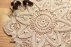 Crochet Doilies  Vintage Home Decor  Crochet by BeesHandmadeGifts