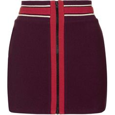 TopShop Mini Bodycon Skirt ($15) ❤ liked on Polyvore featuring skirts, mini skirts, bottoms, burgundy, topshop, body con skirt, short mini skirts, bodycon skirt, purple skirt and topshop skirts