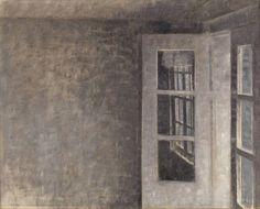 The Balcony Room at Spurveskjul, Vilhelm Hammershøi, 1911 | Museum Boijmans Van Beuningen