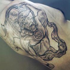 Картинки по запросу aquarius tattoos designs for men