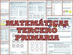 Ejercicios gratuitos de matemáticas para tercero de primaria. Más de 60 ejercicios para repasar Cálculo, Números y Medidas. Math Resources, Activities For Kids, Multiplication Facts, Spanish Classroom, Teaching Math, Maths, Reading Comprehension, Mathematics, Homeschool