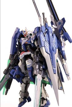 [GBWC 2015 JAPAN] OO XN RAISER XIII SWORD /G 00 Gundam Custom Build Entry: Work by ebichang_RNC7 Photo Review, Info Credits http://www.gunjap.net/site/?p=271688